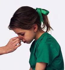 çocuklarda ve bebeklerde burun kanaması